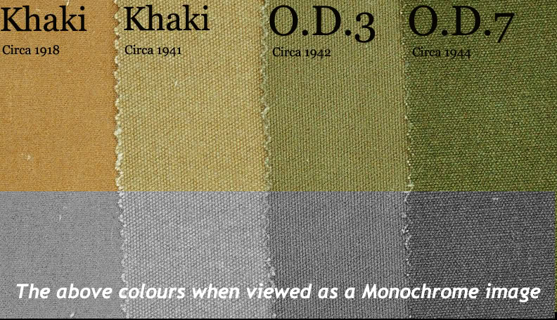 how to create a olive coloured images